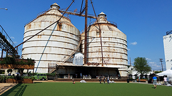 The famous silos of the Magnolia Market in Waco, Texas.
