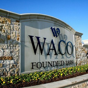 Welcome to Waco sign.